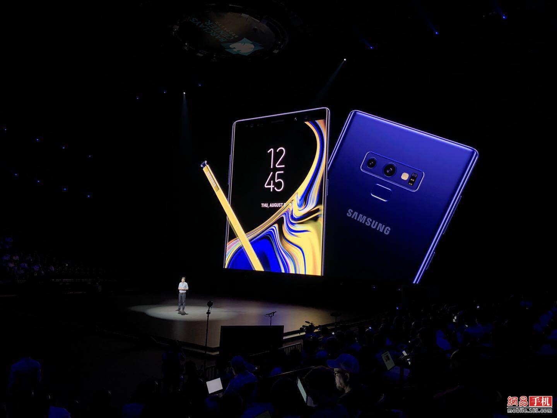 蓝牙S Pen+液冷散热微创新 Galaxy Note9发布