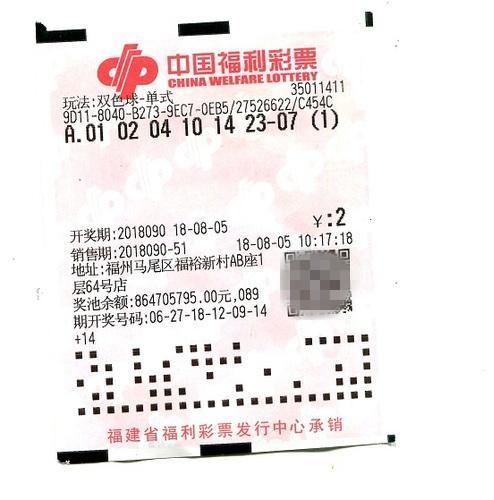 中奖先买房!福州女彩民2元击中双色球金银奖 奖金577万元