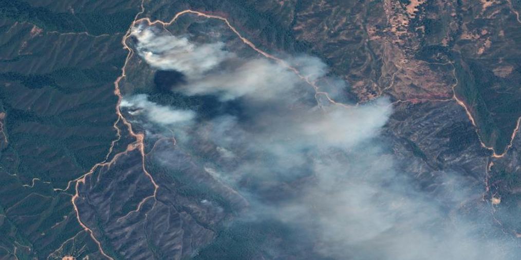 1148平方公里加州北部山火面积创纪录