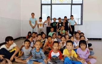 大学生志愿服务队支教公益活动 乡村少儿兴趣班情暖琼中