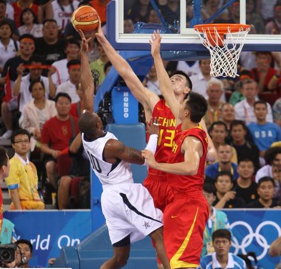 姚明回首08奥运:对抗梦之队被灭也得像烟花一样