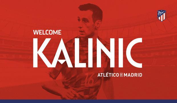 马竞官方宣布卡利尼奇加盟 克罗地亚前锋签三年