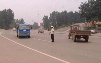 丰南多部门联合整治车辆污染 对546辆进行处罚