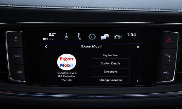 力推车载电子商务平台  通用在美可车内加油付费
