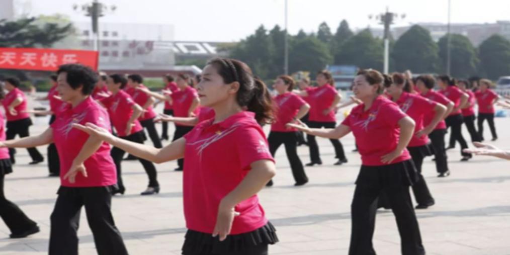 长治城区举办全民健身活动广场舞展演
