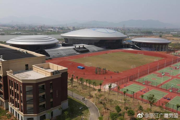 广厦宣布更换主场 新赛季主场设在诸暨暨阳体育中心