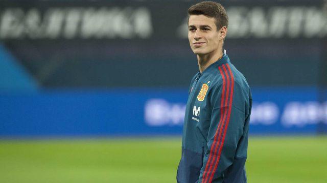 科帕在世界杯上作为替补门将代表西班牙出征