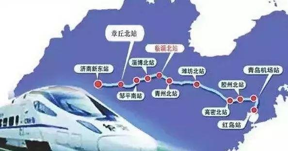 青岛将进入高铁发展全新时代 济青高铁冒高温施工