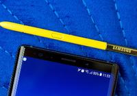 外媒上手三星Note 9:屏大电池大,黄笔成亮点