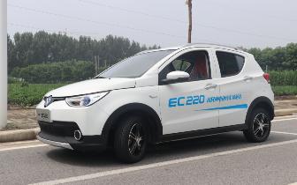 北汽新能源EC220媒体试驾会圆满落幕