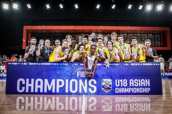 U18亚青赛-澳大利亚夺冠 中国携手3队同进世青赛
