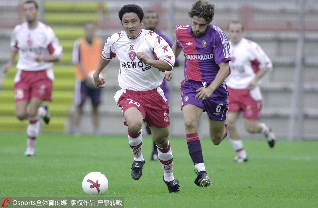 马明宇成为中国意甲第一人