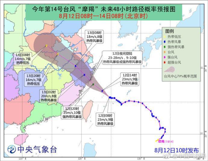 """受台风""""摩羯""""影响 上海两机场取消部分航班"""