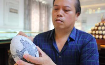 视频:保定涿州变废为宝的民间艺术——蛋雕