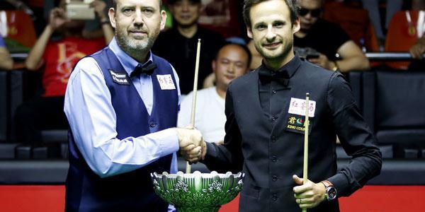 斯诺克世界赛威廉姆斯10-9逆转吉尔伯特夺冠