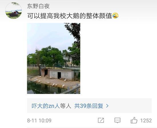 """上海海事大学""""录取""""了一只鹅"""