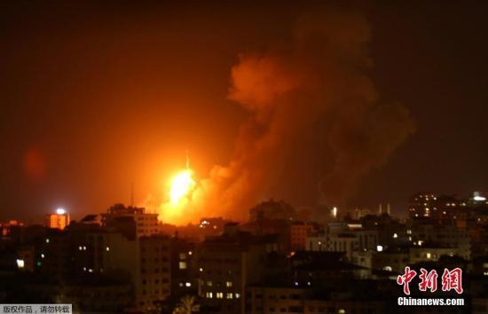 以色列与加沙边境局势紧张 中使馆提醒暂勿前往