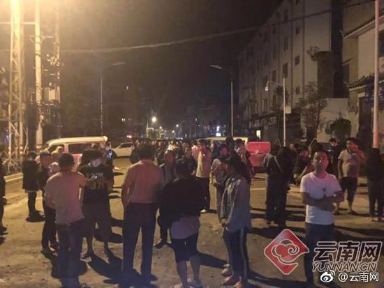 云南通海5级地震已致10人受伤 隐患被清理25处