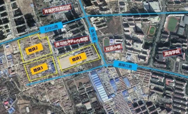 黄岛区5宗地块卖出18.96亿元 均以底价成交