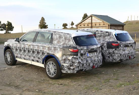 定位中大型7座SUV 中华V9海外谍照曝光