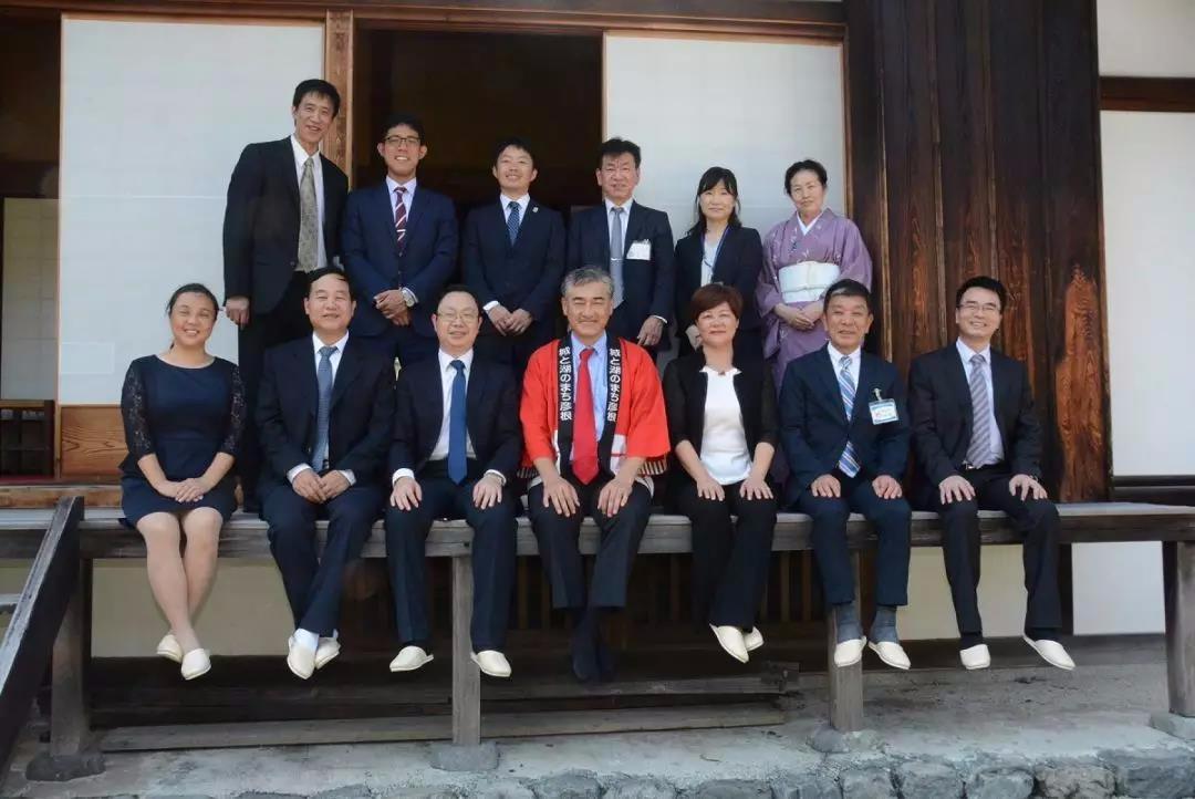 湘潭市副市长刘永珍率团访问日本彦根市