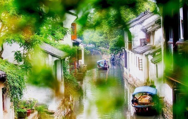 江苏一座江南小镇, 犹如一幅山水画, 你去过吗?