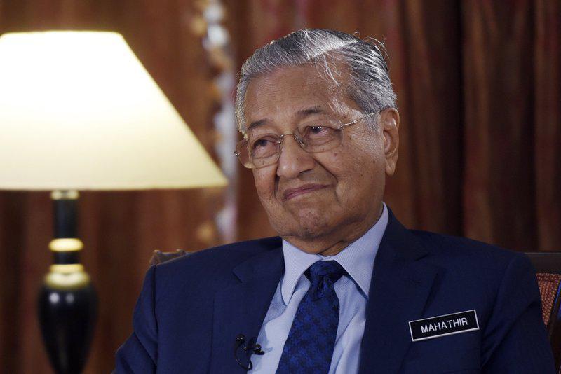 马来西亚总理马哈蒂尔:争取取消部分中资项目
