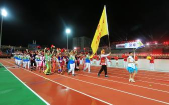 琼中百名运动员亮相省运会 点燃运动激情 力创佳绩
