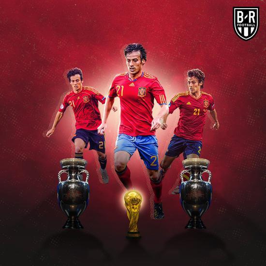 席尔瓦宣布退出西班牙国家队 为国出战125场进25球