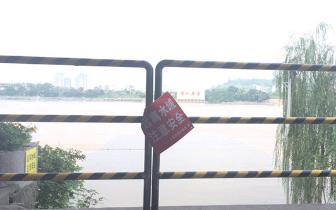 """泸州一男子下水游玩失联至今旁设""""远离水域""""警示牌"""