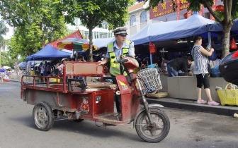 东兴交管大队开展三轮车专项整治成效显著