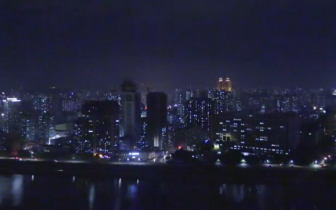 韩记者看到朝鲜平壤高楼林立 直播中感慨:国际都市