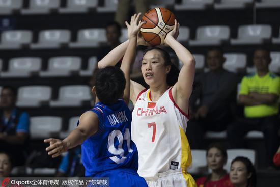 亚运-女篮首战68分大胜泰国 邵婷携六人得分上双