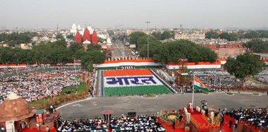 印度举行独立日庆祝活动 莫迪发表演讲