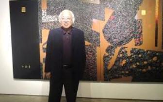 台现代艺术家李锡奇:文化本位不变 创作初心不改