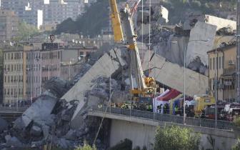 大桥坍塌震惊全国 意总理宣布热那亚进入紧急状态