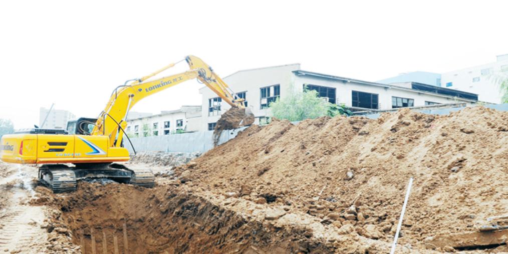 长治市纬五路新建工程正式开工