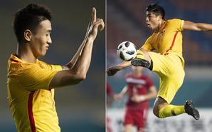 韦世豪传射张玉宁破门 U23国足3-0