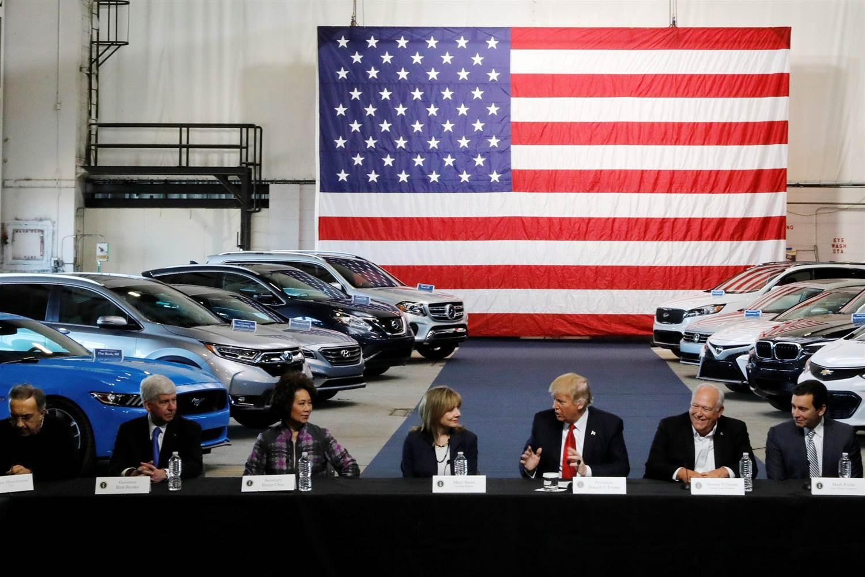 外媒:美加征进口汽车关税或危及韩美自贸协定