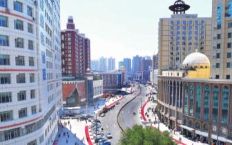 乌鲁木齐市解放南路昨起恢复通行