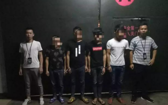 东兴某酒店遭4名男子打砸 原因让人无语