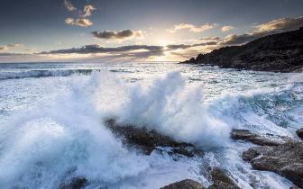 海面上升危及沿海城市:小地震也会带来巨浪