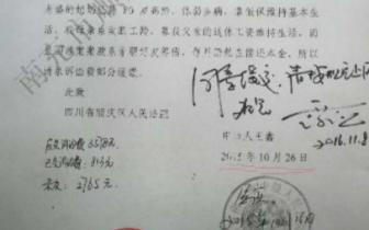 四川一法院干警偷盖单位公章 当地纪委:调离岗位