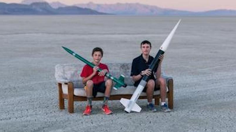 火箭爱好者天堂内华达:可发射自制火箭