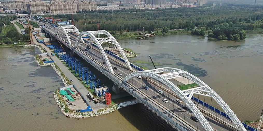 沈阳长青桥两侧新桥10月底通车