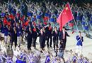 赵帅率中国代表团入场