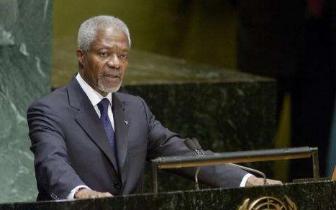 前任联合国秘书长安南去世 联合国将举行纪念活动