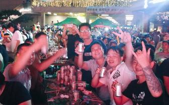 嗨翻一夏!桂林第四届万福广场啤酒节开幕,狂欢盛起~