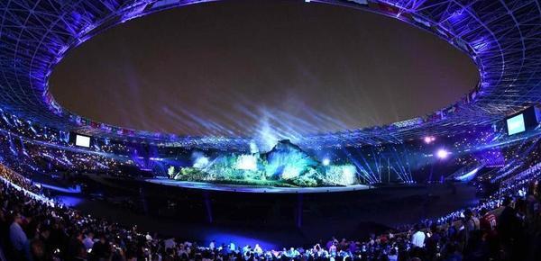第十八届亚运会在印尼首都雅加达开幕