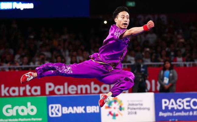 亚运首金5连冠!中国武术笑傲雅加达